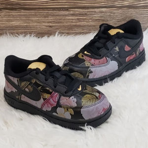 New Nike Air Force 1 LXX Floral Toddler Sneakers